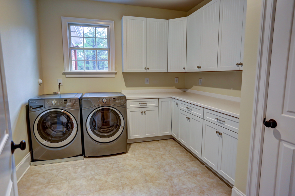 custom laundry room richard atack construction