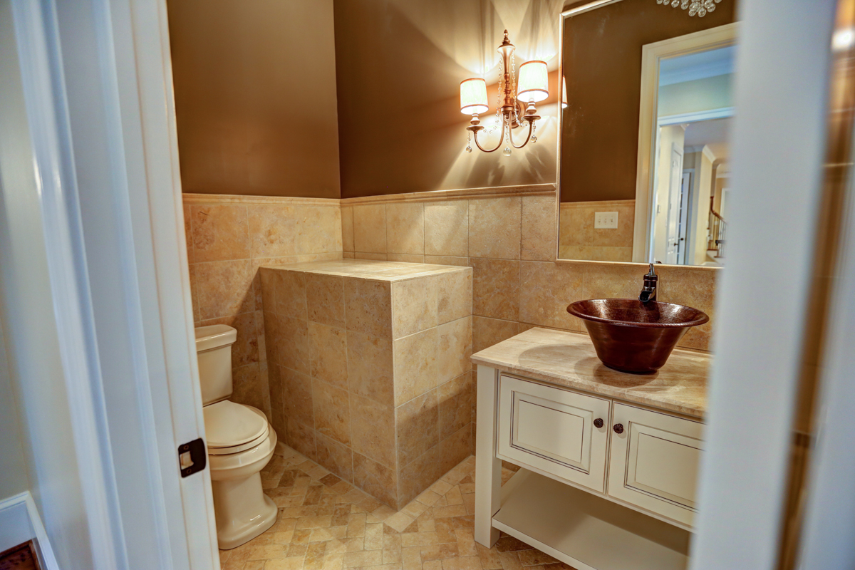bathroom by richard atack construction