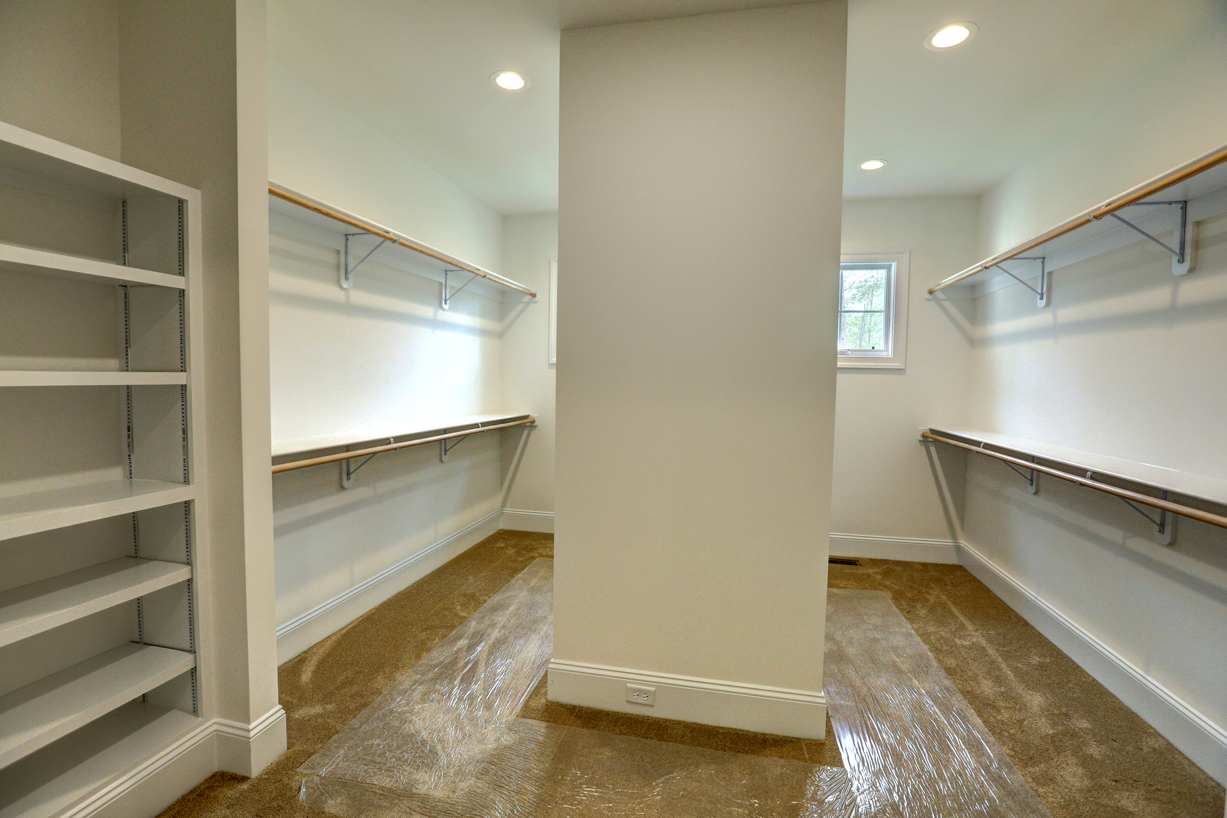 walk in closet by richard atack construction