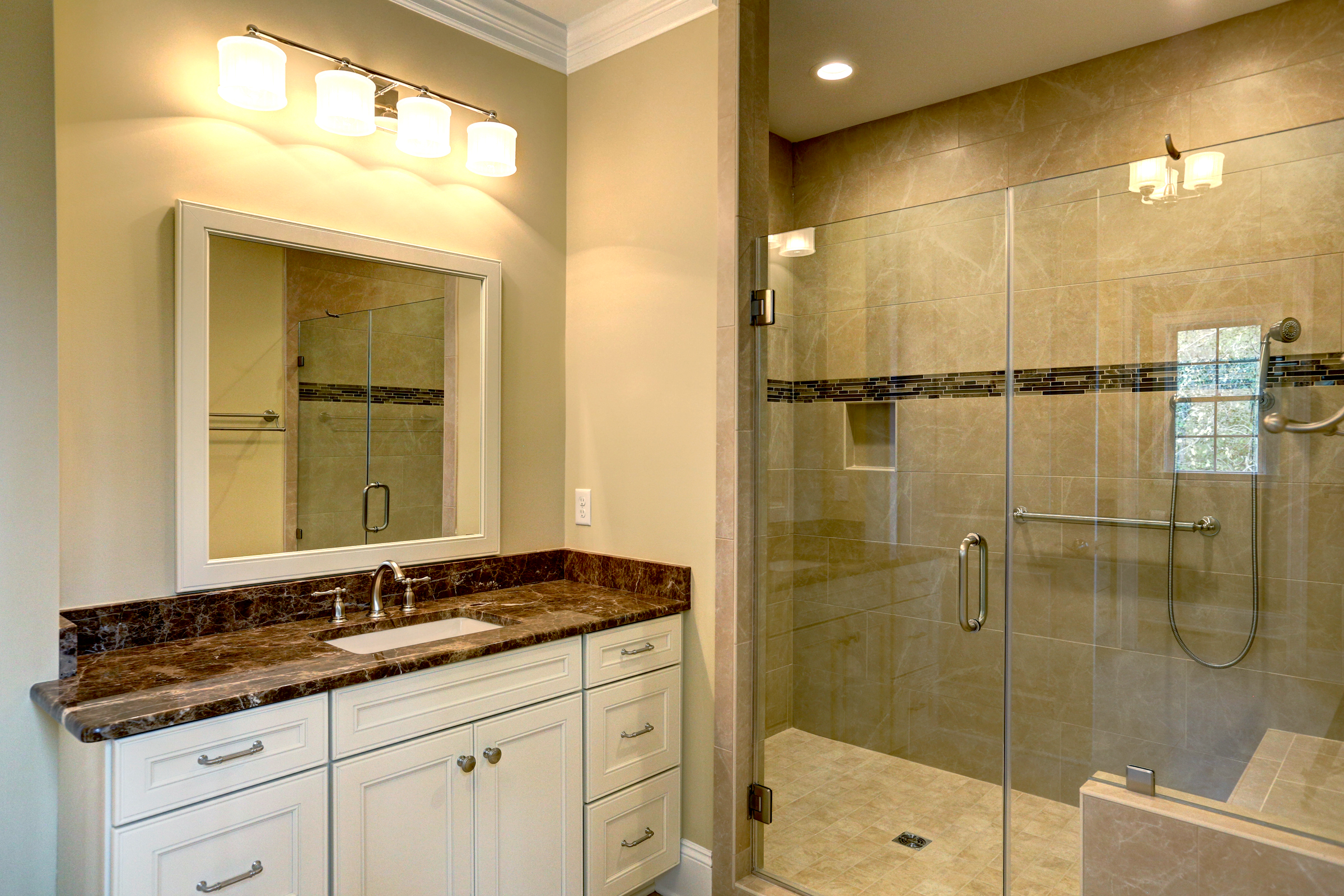 custom bathroom by richard atack construction