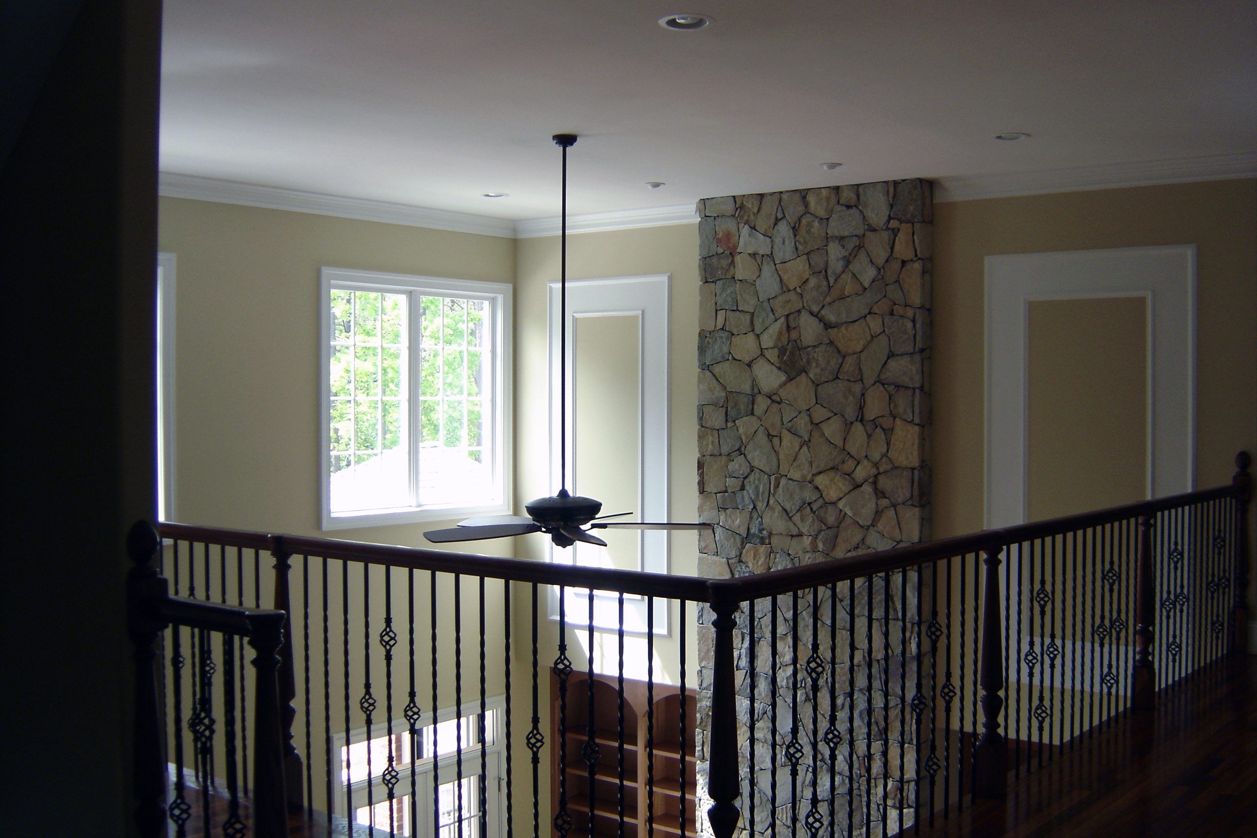 entryway foyer by richard atack construction