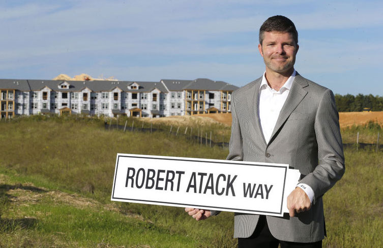 cory atack new president of Atack Properties